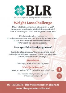 Flyer Weight Loss Challenge