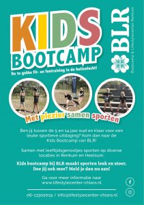 BLR Kids bootcamp flyer