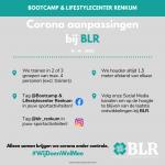 Corona Routekaart Bootcamp Renkum